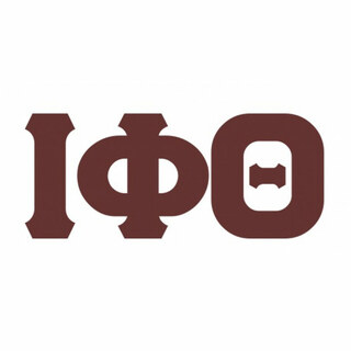 Iota Phi Theta Big Greek Letter Window Sticker Decal