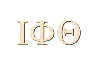 Iota Phi Theta Big Wooden Greek Letters