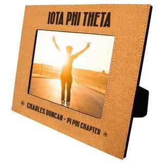 Iota Phi Theta Cork Photo Frame