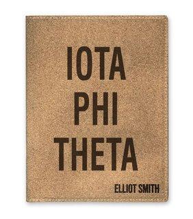 Iota Phi Theta Cork Portfolio with Notepad