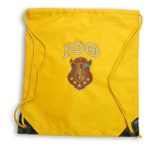 Iota Phi Theta Crest - Shield Cinch Sack