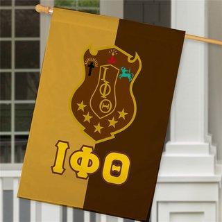 Iota Phi Theta Crest House Flag