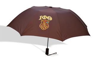 Iota Phi Theta Crest - Shield Umbrella