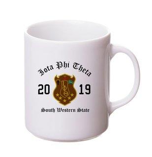 Iota Phi Theta Crest & Year Ceramic Mug