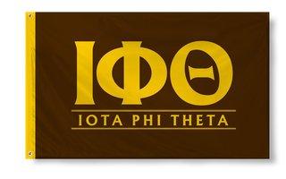 Iota Phi Theta Custom Line Flag