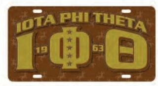Iota Phi Theta D9 Founders License Plates