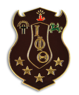 Iota Phi Theta Die Cut Car Badges