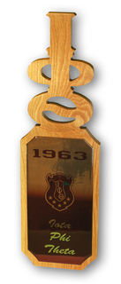 Iota Phi Theta Domed Wall Hanging Paddle
