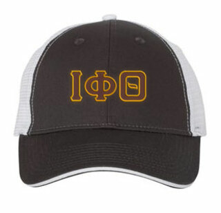 Iota Phi Theta Double Greek Trucker Cap