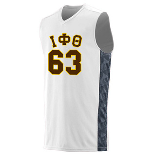 Iota Phi Theta Fast Break Game Basketball Jersey