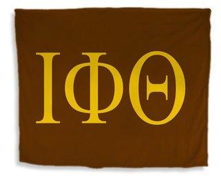 Iota Phi Theta Flag Giant Velveteen Blanket