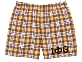 Iota Phi Theta Flannel Boxer Shorts