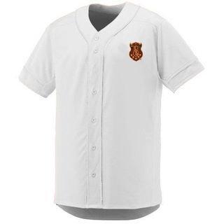 DISCOUNT-Iota Phi Theta Fraternity Crest - Shield Slugger Baseball Jersey