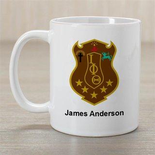 Iota Phi Theta Greek Crest Coffee Mug - Personalized!