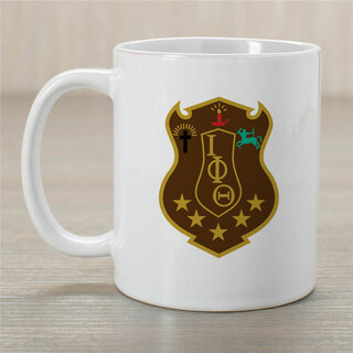 Iota Phi Theta Greek Crest Coffee Mug