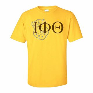 Iota Phi Theta Greek Crest - Shield T-Shirt