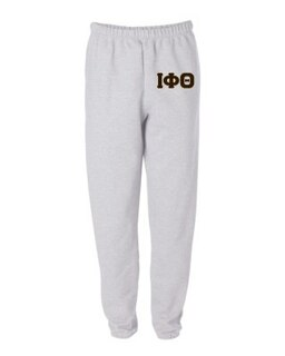 Iota Phi Theta Greek Lettered Thigh Sweatpants