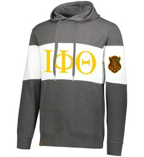 Iota Phi Theta Ivy League Hoodie W Crest On Left Sleeve