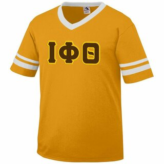 DISCOUNT-Iota Phi Theta Jersey With Greek Applique Letters