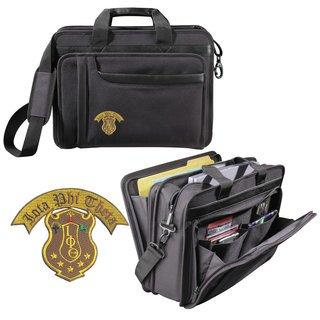 DISCOUNT-Iota Phi Theta Crest - Shield Briefcase Attache