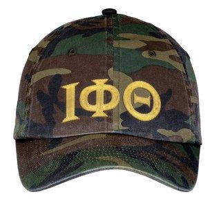 Iota Phi Theta Lettered Camouflage Hat