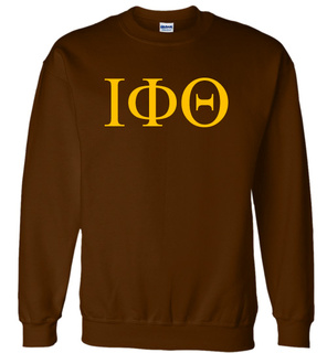 Iota Phi Theta Lettered World Famous Greek Crewneck