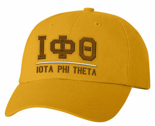 Iota Phi Theta Old School Greek Letter Hat