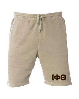 Iota Phi Theta Pigment-Dyed Fleece Shorts