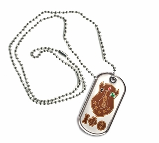 Iota Phi Theta Reversible Dog Tags