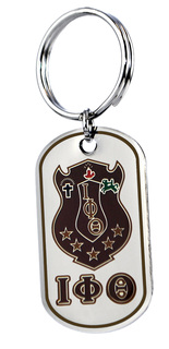 Iota Phi Theta Reversible Key Chains