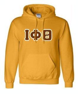 Iota Phi Theta Sewn Lettered Sweatshirts