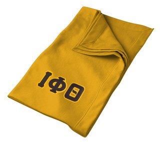 DISCOUNT-Iota Phi Theta Twill Sweatshirt Blanket