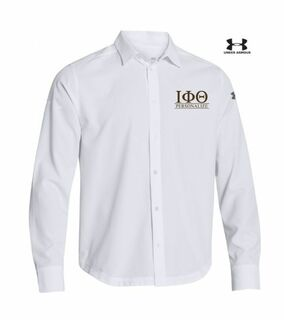 Iota Phi Theta Under Armour�  Men's Ultimate Fraternity Long Sleeve Buttondown