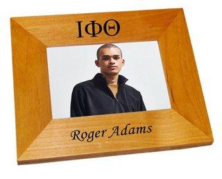 Iota Phi Theta Wood Picture Frame
