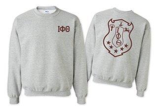 Iota Phi Theta World Famous Crest - Shield Crewneck Sweatshirt- $25!