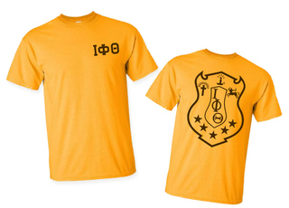 Iota Phi Theta World Famous Crest - Shield Tee