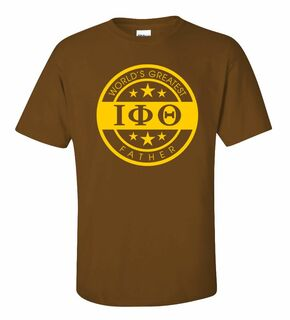 Iota Phi Theta World's Greatest Father T-Shirt