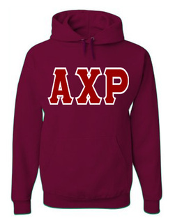 Jumbo Twill Alpha Chi Rho Hooded Sweatshirt