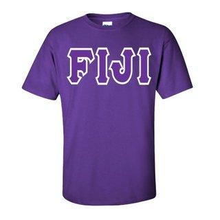 Jumbo Twill FIJI Fraternity Short Sleeve Tee
