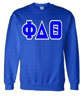 Jumbo Twill Phi Delta Theta Crewneck Sweatshirt