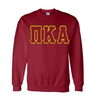 Jumbo Twill Pi Kappa Alpha Crewneck Sweatshirt