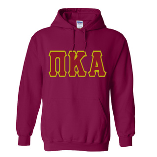 Jumbo Twill Pi Kappa Alpha Hooded Sweatshirt