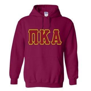 Jumbo Twill Pi Kappa Alpha Hooded Sweatshirt