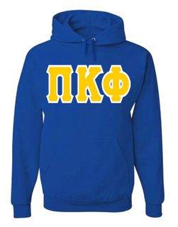 Jumbo Twill Pi Kappa Phi Hooded Sweatshirt