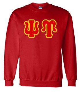 Jumbo Twill Psi Upsilon Crewneck Sweatshirt