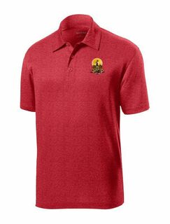 DISCOUNT-Kappa Alpha- World Famous Greek Crest - Shield Contender Polo