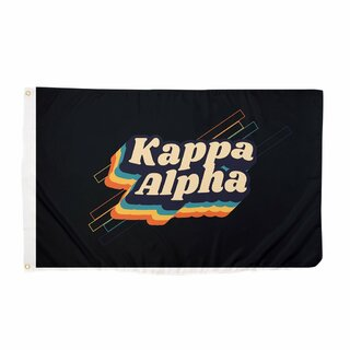 Kappa Alpha 70's Flag