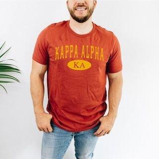 Kappa Alpha arch tee