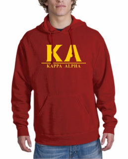 Kappa Alpha bar Hoodie