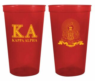 Kappa Alpha Big Crest Stadium Cup
